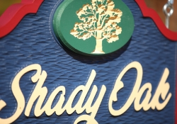 Shady Oak Carved Sign-160